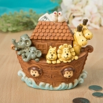 Adorable Noah's Ark Keepsake Bank