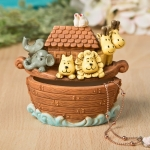 Charming Noah's Ark Keepsake Box