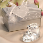 Crystal Baby Bootie Favor