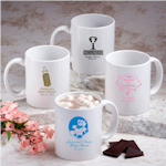 Personalized Baby Shower White Mug