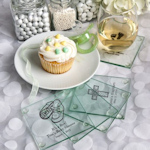 Personalized Baby Glass Coasters