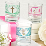 Personalized Baby Themed Shot Glass/Votive Holder
