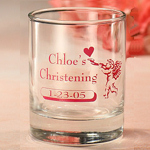Personalized Christening Votive Candle Holder