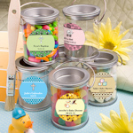 Personalized Baby Paint Can Containers
