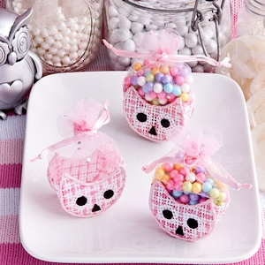 Adorable Pink Owl Baskets imagerjs