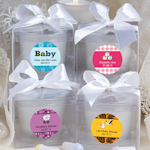 Baby Shower Personalized Candle Favor