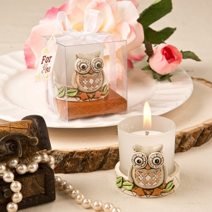 Vintage Owl Votive Candle Holder imagerjs