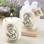 Madonna and Child Tea Light Candle Holders