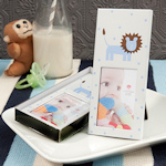 Lion Design Picture Frame Baby Shower Favor