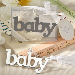 Adorable Baby Design Bookmark Favor imagerjs
