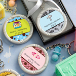 Personalized Baby Themed Key Rings