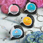 Key Chain and Measuring Tape Favors - Baby Shower