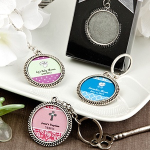 Design Your Own Collection Baby Favor Keychains imagerjs