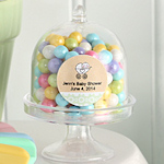 Personalized Cake Stand Box Baby Themed Favors