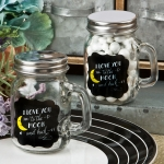I Love You To The Moon And Back Mini Glass Mason Jar