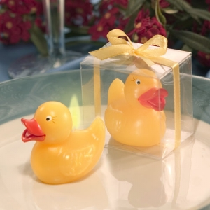 Yellow Ducky Candle Favor imagerjs
