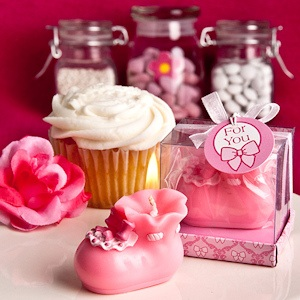 Pink Bootie Candles imagerjs