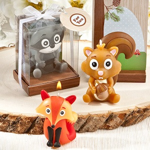 Woodland Animal Candle Favors imagerjs
