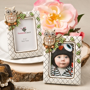 Vintage Owl Themed Place Card Shower Favors imagerjs
