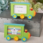 Little Locomotive Engine Placecard Frame Favors