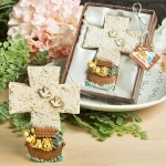Adorable Noah's Ark Themed Cross Favors