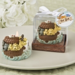 Adorable Noah's Arc Themed Tea Light Holder Favor