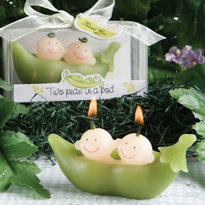 Two Peas in a Pod Wax Candle Favors imagerjs