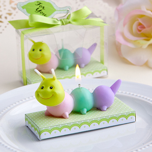 Adorable Baby Caterpillar Candles imagerjs