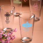 Personalized Baby Shower 16oz Glasses