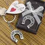 Horseshoe Keychain Baby Shower Favors