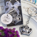 Princess Shower Crown Key Chain Favors
