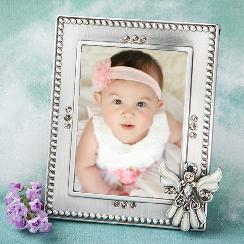 click to zoom baptism angel photo frame favors imagerjs