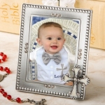 Cross Photo Frame Favors for Baptisms