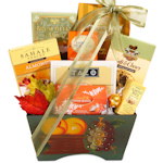 Gourmet Fall Harvest Gift Basket