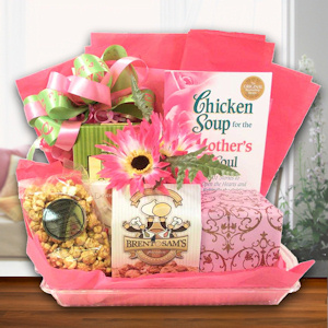Mothers Book & Snack Gift Tray imagerjs