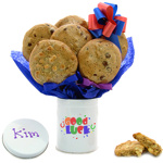Good Luck Cookie Tin Bouquet
