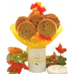 Thanksgiving Cookie Tin Bouquet
