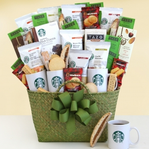 Starbucks Grand Holiday Gift Basket imagerjs