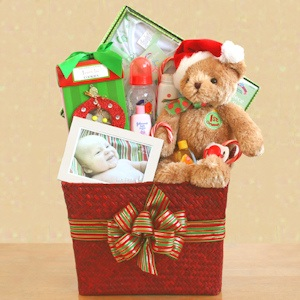 Baby's First Christmas Gift Basket imagerjs