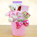 Mother's Day Pink Gift Pail