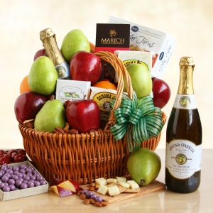 Gourmet California Delicious Picnic Gift Basket imagerjs
