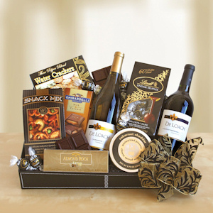 Darling Duo Wine Gift Basket imagerjs