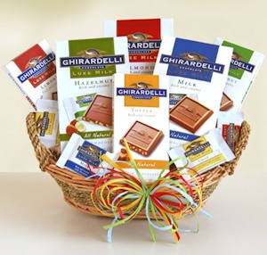 Luxe Ghirardelli Basket imagerjs