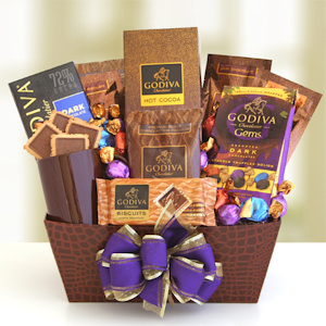 Godiva Chocolate & Coffee Basket imagerjs