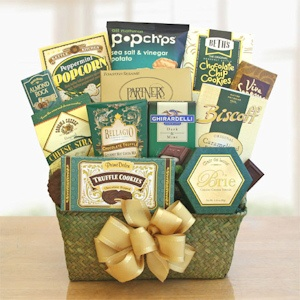 Christmas Cheer Snack Basket imagerjs