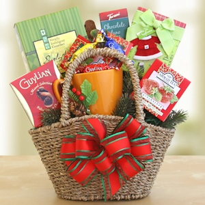 Christmas Tea Time Gift Basket imagerjs