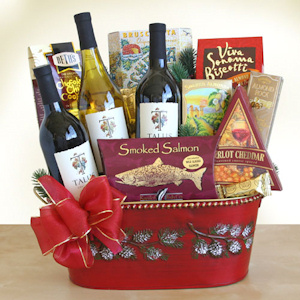 Season's Spectacular Wine & Gourmet Gift imagerjs