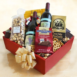 Wine Lovers Delight Gift Basket imagerjs