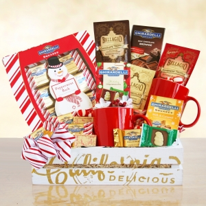 Ghirardelli Chocolate Christmas Gift Tray imagerjs