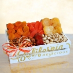 Sun Dried Fruit and Nuts Gift Crate